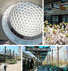 <br>作为单纯交通工具的地铁站,<br>变身成为全新文化空间。